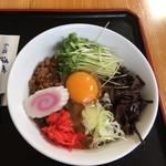 そば処 遠藤 - 料理写真:汁なし坦々麺 800円