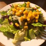 タントチッタ - セットのサラダ