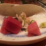 鮨處 かざま - トロ2種