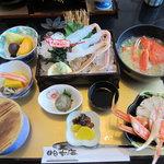 お食事処日本海 - 松葉カニ御膳