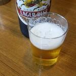 104261148 - キリンラガー大瓶380円