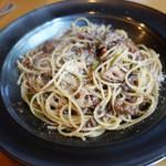 104262222 - 牛肉のスパゲティ