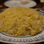 104262659 - ほろほろ鳥の脂で炒めた炒飯