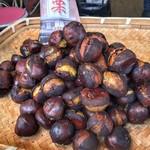 くりの里 - 焼き栗は500円分購入。