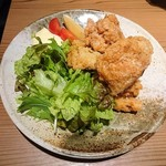 koshitsuizakayatorijuubee - 大山鶏の唐揚げ