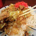 えぞ松 - ホイコーロ定食(大盛)780円