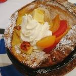 しまうまカフェ - シトラスチーズ スキレットパンケーキ