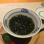町家懐石 六花 - 料理写真:輪島の岩のりの茶碗蒸し