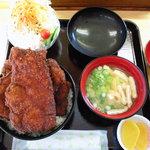 めし処円 - ソースカツ丼セット