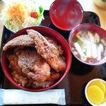 めし処円 - チキン丼セット