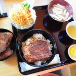 めし処円 - ひれカツ丼セット