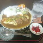 CocoKana・軽食喫茶 - 豆腐トキンカレー \800