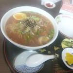 CocoKana・軽食喫茶 - わさび味噌ラーメン \680