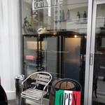 オステリア ラ・マンテ - お店入口