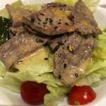 和食 雄 - 牛しゃぶサラダ