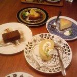 10429436 - 栗+ガトーショコラ+チーズケーキ+アップル