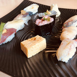 福鮨 - 季節の天ぷらとにぎり寿司ランチ