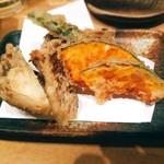 104294097 - 天ぷらおまかせ5種