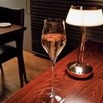 ルフラマンローズ アムリタ - 乾杯はシャンパーニュで。(ペアリング外)