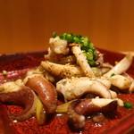 104299059 - あおりイカの塩胡椒炒めアップ