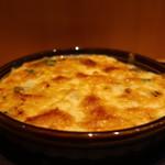 104299075 - 牡蠣とホーレン草の西京味噌グラタンアップ