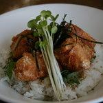 流氷 - 料理写真:オホーツク網走ザンギ丼