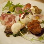 イルガッビアーノ - 前菜盛り合わせ1500円