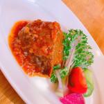 Trattoria motomu.N - 和牛頰肉トマト煮込み