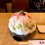 柿の葉ずし 平宗 - 料理写真:桜氷