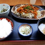 104306163 - 辛味噌ホルモン定食(850円)