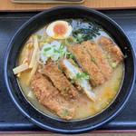 104307013 - とんかつ味噌ラーメン(1000円)