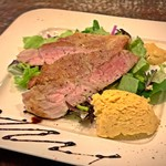 ビストロ コマ - 豚肩ロースステーキ