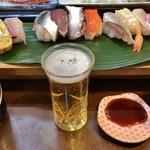 いこま寿司 - ドリンク写真:サービスランチ にぎり 1.5人前