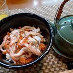 和久 - せこガニの出汁茶漬け 大将のアイデアが凄い  味ももちろん凄い!