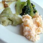 六丁目農園 - 煮た野菜いろいろ