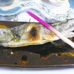 濁河温泉 朝日荘 - 岩魚の塩焼き