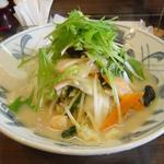 創作ちゃんぽん・中華の店 万福 - 定番チャンポン!水菜がおいしい!!