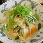 創作ちゃんぽん・中華の店 万福 - 野菜の切り方にも注目。これぞ長崎流!!!