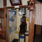 玉翠楼 - 電話室は戦前の設備でしょうか