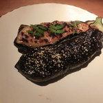 石塀小路 豆ちゃ - 茄子の田楽。味噌は2色で。