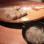 石塀小路 豆ちゃ - 海老芋の揚げだし、蟹餡かけ。