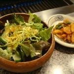 草の家 - ランチ:サラダ