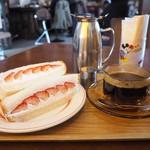 サニー ルート コーヒー - いちごサンド(季節限定)