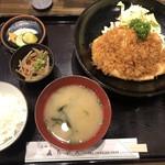 直ちゃん - チキン南蛮定食(ご飯小)850円
