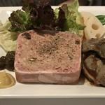 ル・マルカッサン - お肉のテリーヌとスナギモのコンフィー