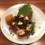 郷土料理 五志喜 - ハマチ塩タタキ