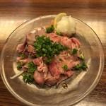 郷土料理 五志喜 - 伊予和牛 おろしポン酢仕立て