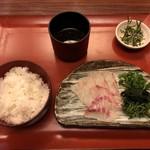 郷土料理 五志喜 - 宇和島鯛めし①