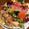 大入鮨 - 料理写真:刺身盛り合わせ
