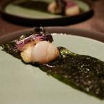 kiwa - 料理写真:カチョカバロと帆立の磯辺巻き